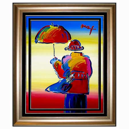 peter max mixed media paintings. Black Bedroom Furniture Sets. Home Design Ideas